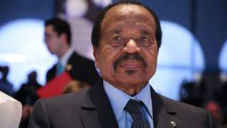Le Président Paul Biya est à la tête du Cameroun depuis 37 ans.