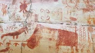 Rock art in the Amazon