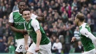 Hibs midfielder John McGinn
