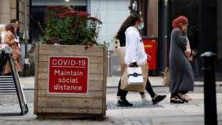 Coronavirus restrictions in Lancashire