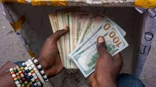 Dollars for Black Hands