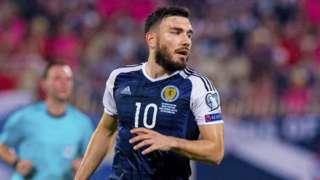Scotland attacker Robert Snodgrass