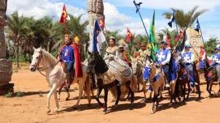 Cavalgada à Pedra do Reino