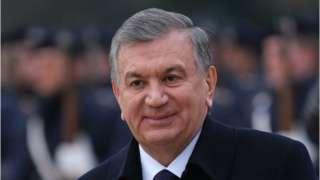 Shavkat Mirziyoye president of Uzbekistan