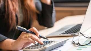 Working on finances