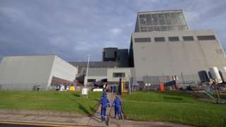 Hunterston B power station