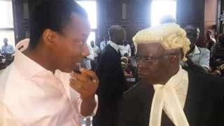 Omoyele Sowore ati Femi Falana