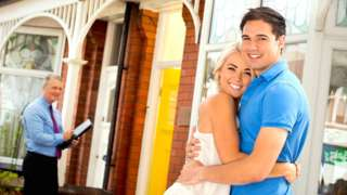 Happy first-time buyers