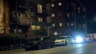 Police car outside address on Portswood Road