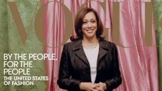 Moda dergisi Vogue'un ABD baskısının Şubat sayısının kapağındaki, ABD Başkan Yardımcısı seçilen Kamala Harris'in fotoğrafı tartışma yaratmıştı.