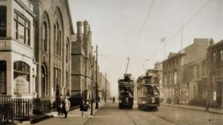 Howard Street taken from Northumberland Square approx 1910s