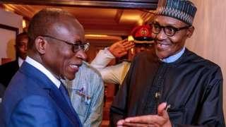 Nigeria President Muhammadu Buhari and Benin Republic President Patrice Talon for TICAD7 summit for Japan
