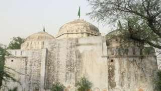 दर्शन नगर स्थित मस्जिद