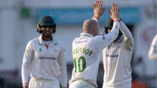 Callum Parkinson's four-wicket haul took his tally of Championship scalps to to 43 for the season, comfortably his career-best
