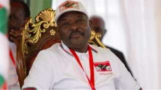 Di late President Pierre Nkurunziza suppose hand over power for August