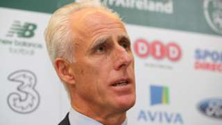 """Mick McCarthy says he """"was never going to turn down"""" the Republic job"""