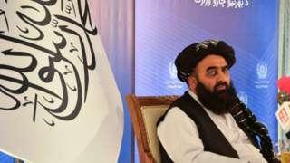 တာလီဘန် နိုင်ငံခြားရေးဝန်ကြီး အီမာ ခန်း မွတ်တာကီက တနင်းလာနေ့တုန်းက ကုလကို ပန်ကြားစာပို့ခဲ့