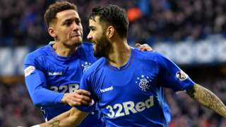 Rangers pair James Tavernier and Daniel Candeias