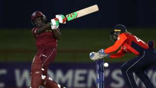 Deandra Dottin of West Indies