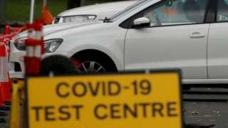 Test centre in Bolton