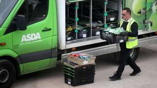 Asda delivery man