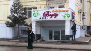 Ashgabat furniture shop, Turkmenistan