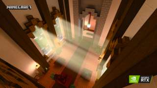 Minecraft with ray-tracing technology