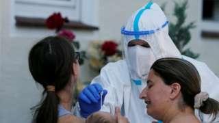 Authorities test residents of Gutersloh