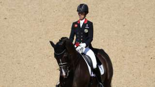 Charlotte Dujardin of Great Britain
