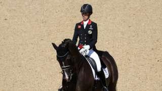 Charlotte Dujardin of Great Britain