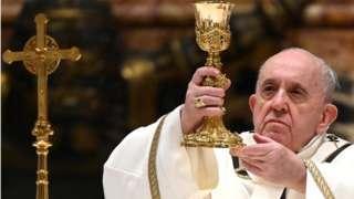 papa Francis amesema kwamba sikuu ya Krisimasi ulikuwa muda sio wa kuomba msamaha bali bali kuwapatia faraja wengine