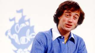 Max Stahl/Christopher Wenner on Blue Peter in 1979