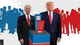 Aworan Biden ati Trump