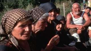Сербские беженцы