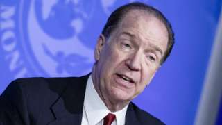 World Bank head David Malpass