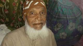 Mohammad Shareef at his home