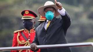 """""""Yoweri Museveni swearing-in 2021"""":"""