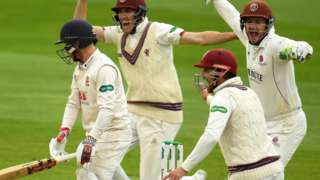 Last day of Somerset v Essex at Taunton in 2019
