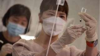 韓國首批新冠病毒接種工作將於本周晚些時候才開始。