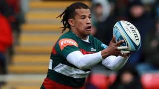 Clayton Blommetjies in action for Leicester Tigers
