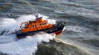 A lifeboat