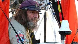 Fedor Konyukhov during his solo around the globe balloon attempt