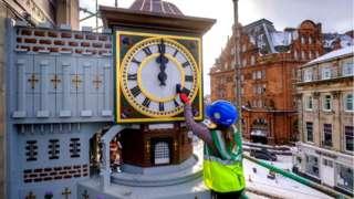 Binns Clock