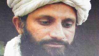 A picture purportedly showing Asim Umar, shared by Afghanistan's National Directorate of Security