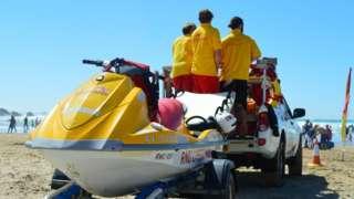 RNLI lifeguards