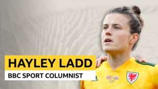 Hayley Ladd sport columnist graphic