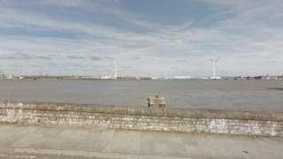 River Thames near Gravesend