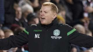 Hibernian head coach Neil Lennon