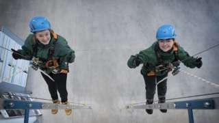 Apprentices Hope (left) and Jovita Beeston