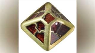 Anglo-Saxon gold and garnet sword pyramid